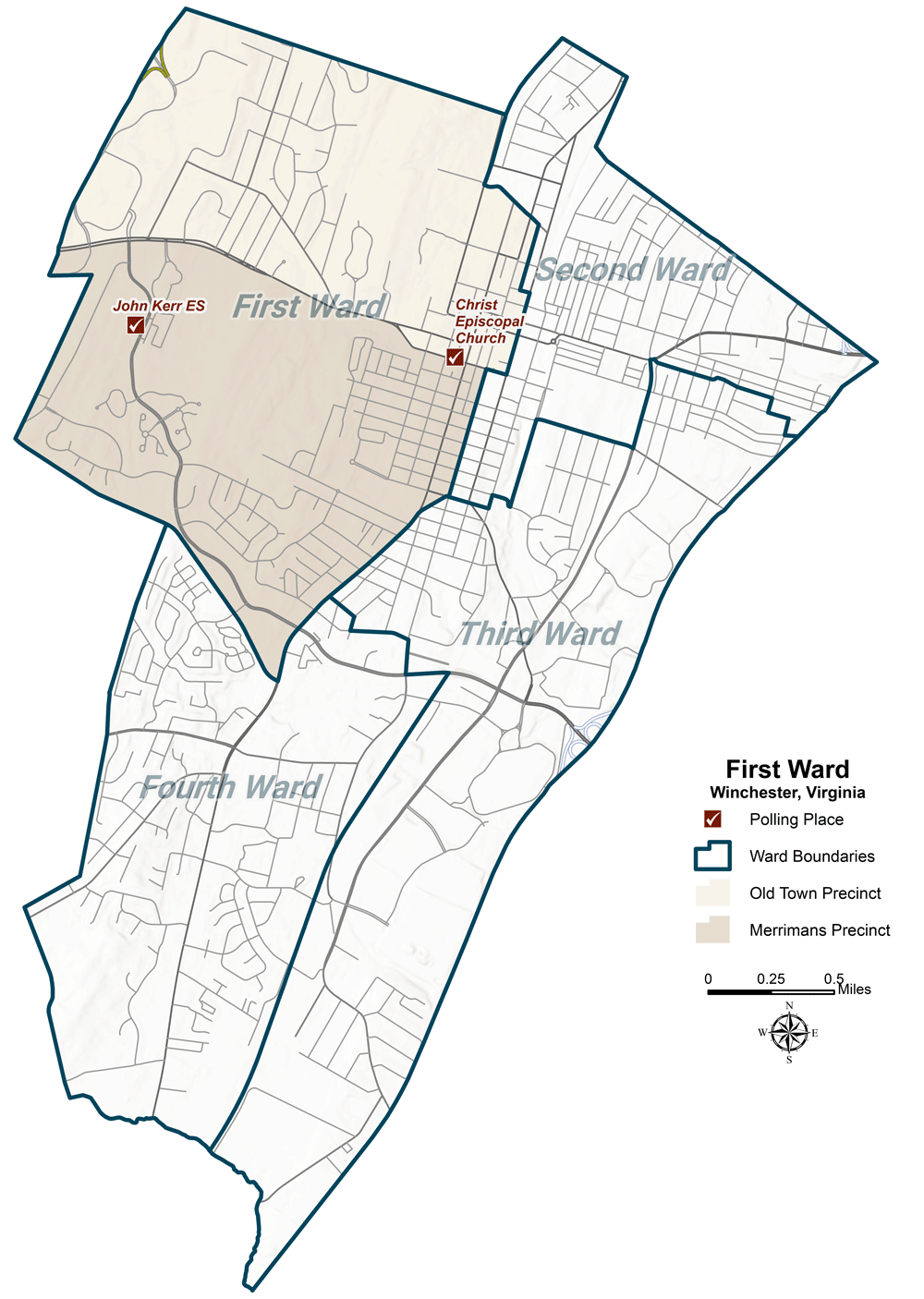First Ward Map