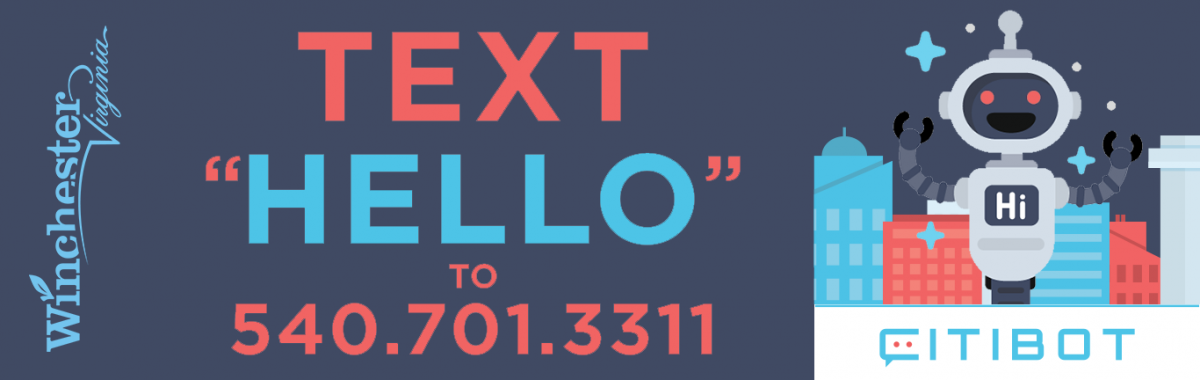 Text Hello to 540-701-3311