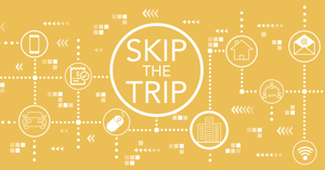 Skip the Trip button