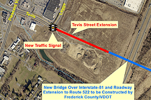 Tevis Street Extension Project