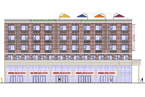 Winchester Towers Redevelopment rendering