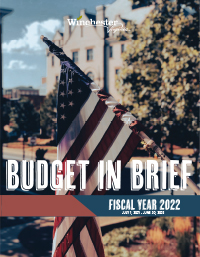 FY22 Budget in Brief cover