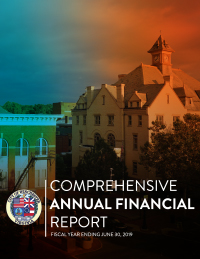 FY2019 CAFR Cover