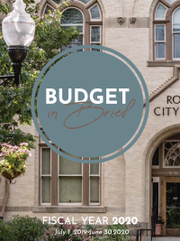 FY20 Budget in Brief