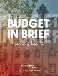 FY21 Budget in Brief cover