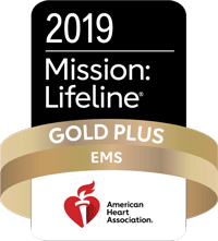 Mission Lifeline: Gold Plus Award for EMS