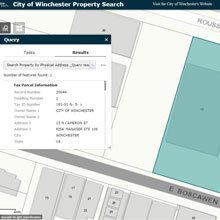 Property search map