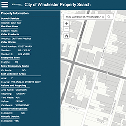 Gis Maps City Of Winchester