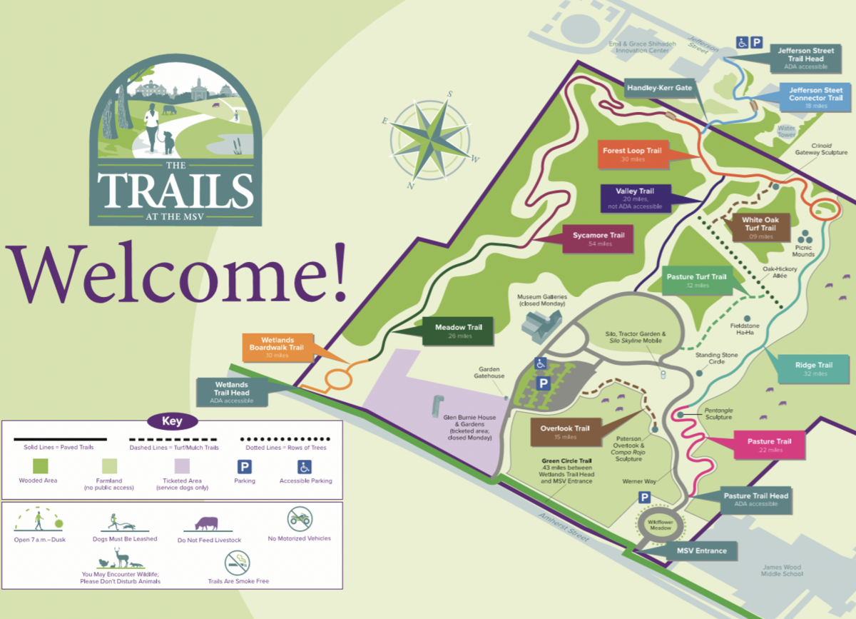 The Trails at the MSV map