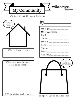 My Community Worksheet