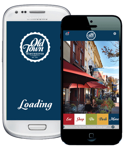 Old Town mobile app
