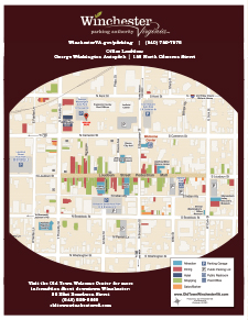 Downtown Map for George Washington Autopark