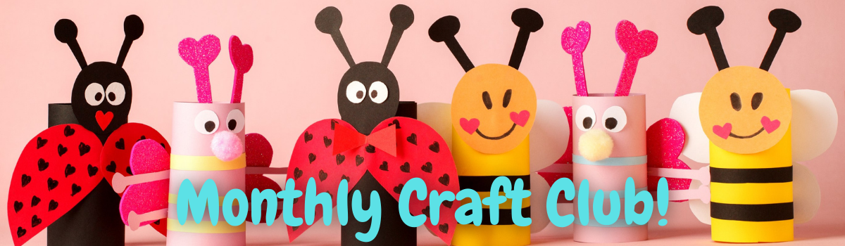 Children's Craft Club banner
