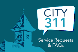 City 311 Service Requests and FAQs