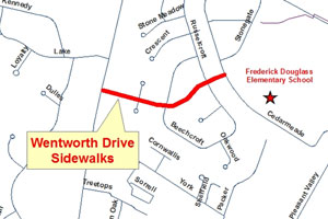 Wentworth Drive on map