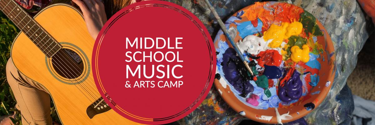 Middle School music and arts camp