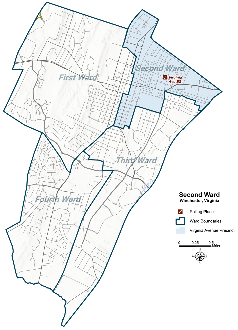 Second Ward Map