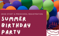 Summer Birthday Party graphic