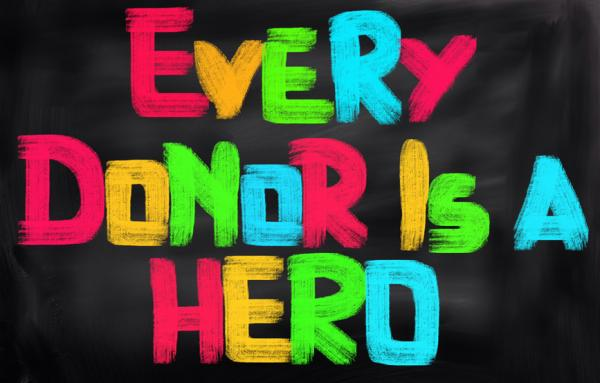 Every donor is a hero