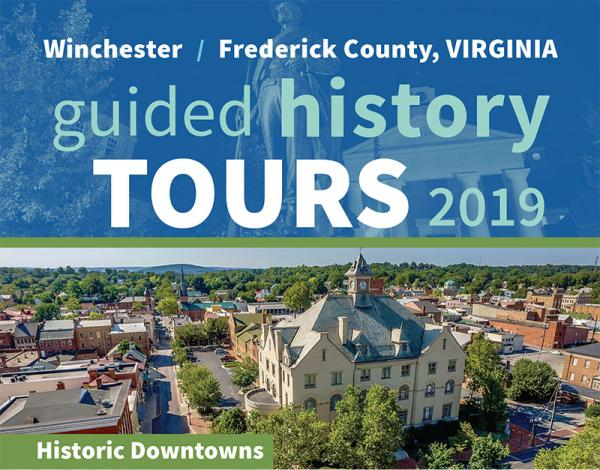 Guided History Tour Rack Card