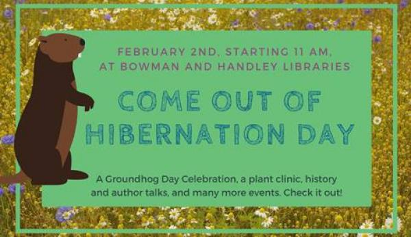 Come Out of Hibernation Day graphic